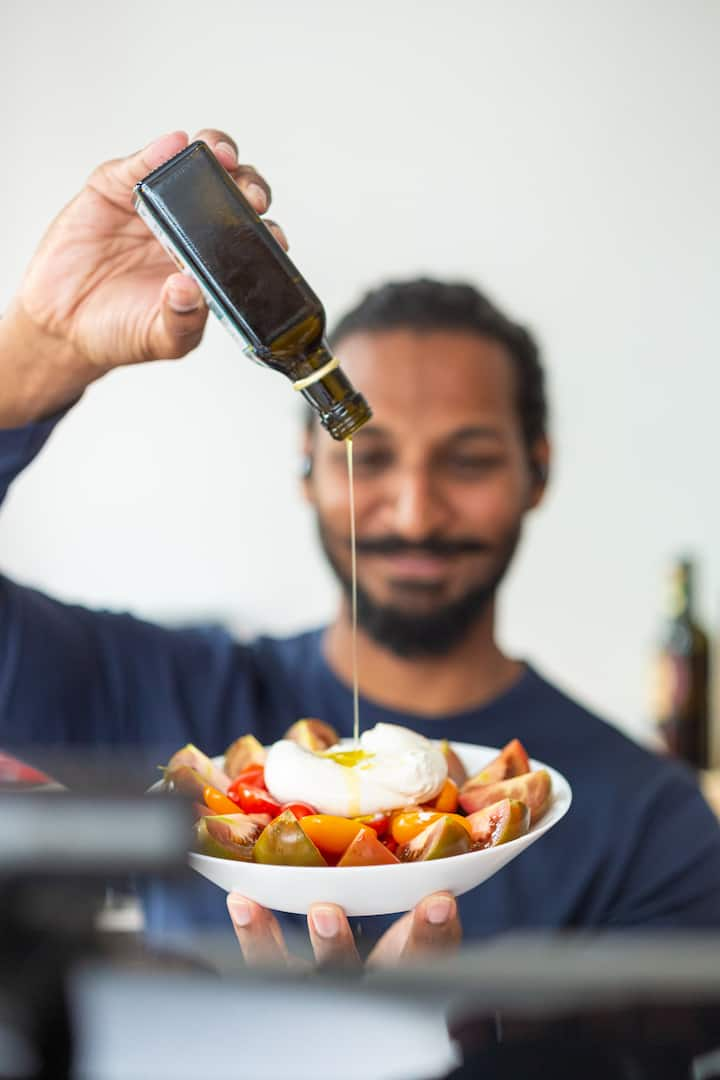 Right olive oil elevates food