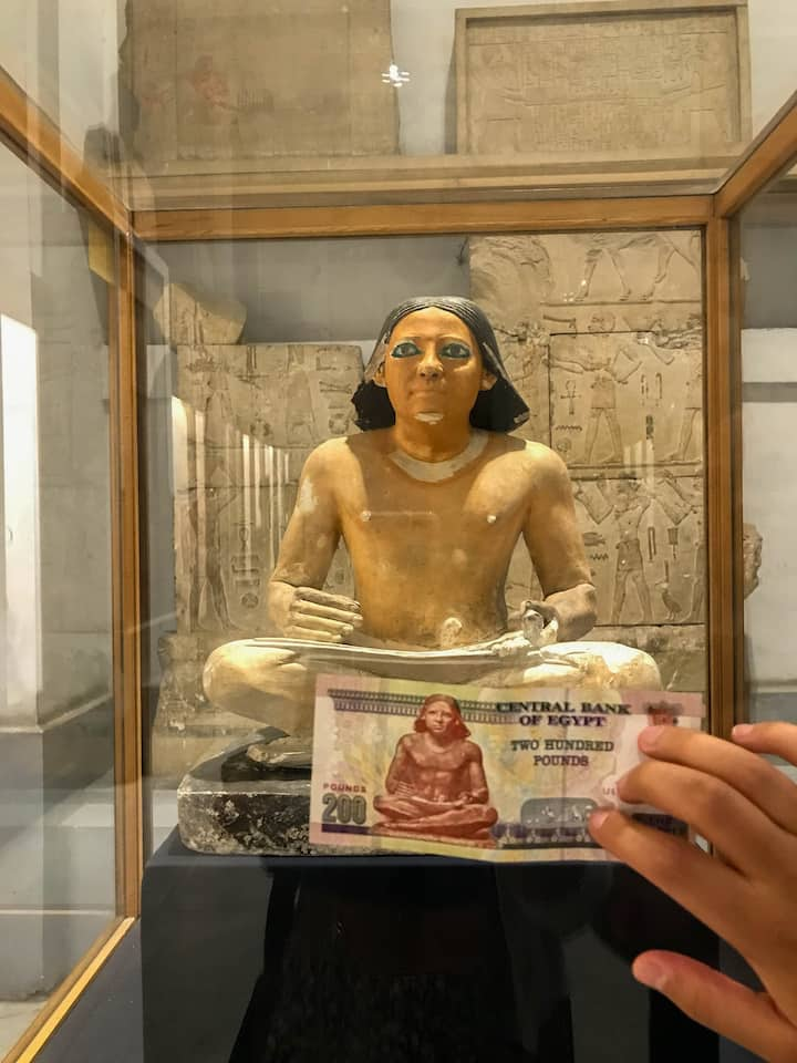scribe-two-hundred-egyptian-pound