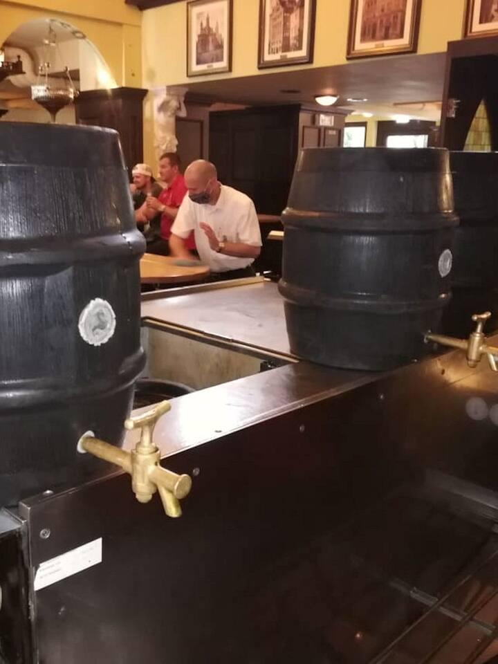 Bierhaus Salzgass mit unserem Zappes