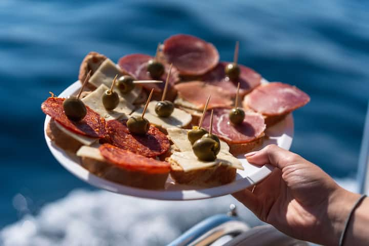 Snack bei No Stress on Cres