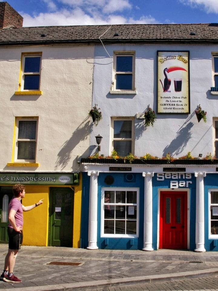 Visit Ireland's oldest pub.