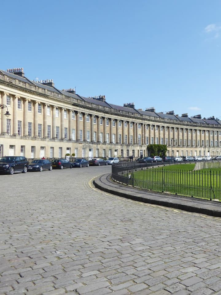 The famous Royal Crescent