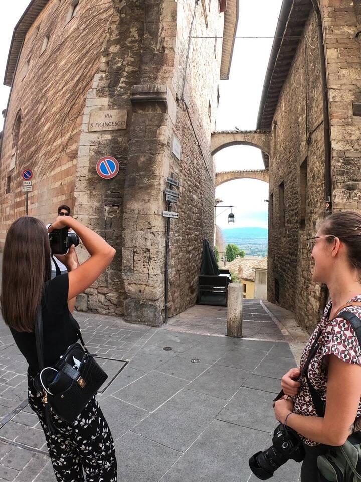 Fotografare gli scorci segreti di Assisi