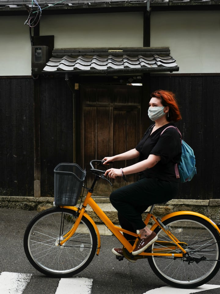 See what it's like to cycle around Kyoto