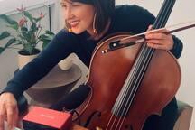 Healing Concert Cellist & Japanese Monk