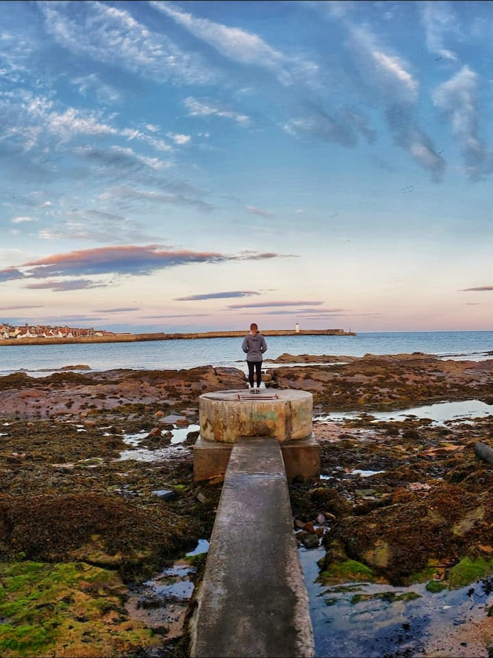 Anstruther Low Tide