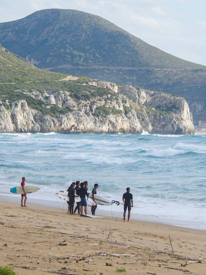 La spiaggia di San Nicolò