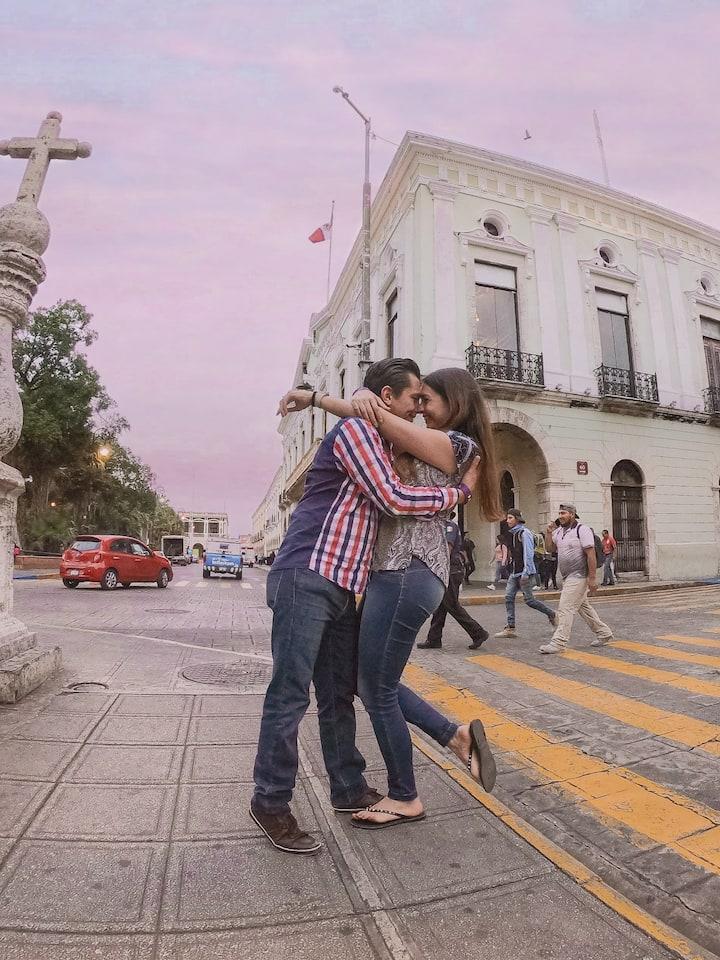 Amor en las calles de Mérida