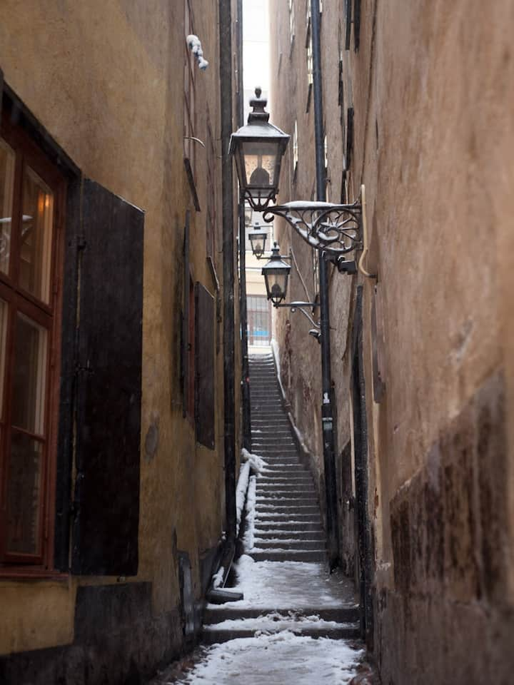 Winter in Gamla stan