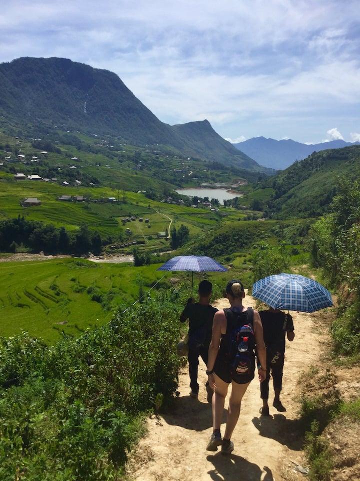 Ta Vang village