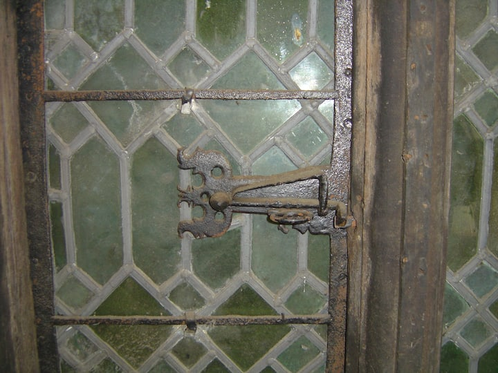 Original 17C window catches