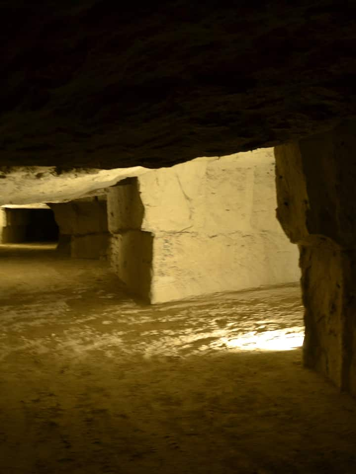 Les caves sont immenses