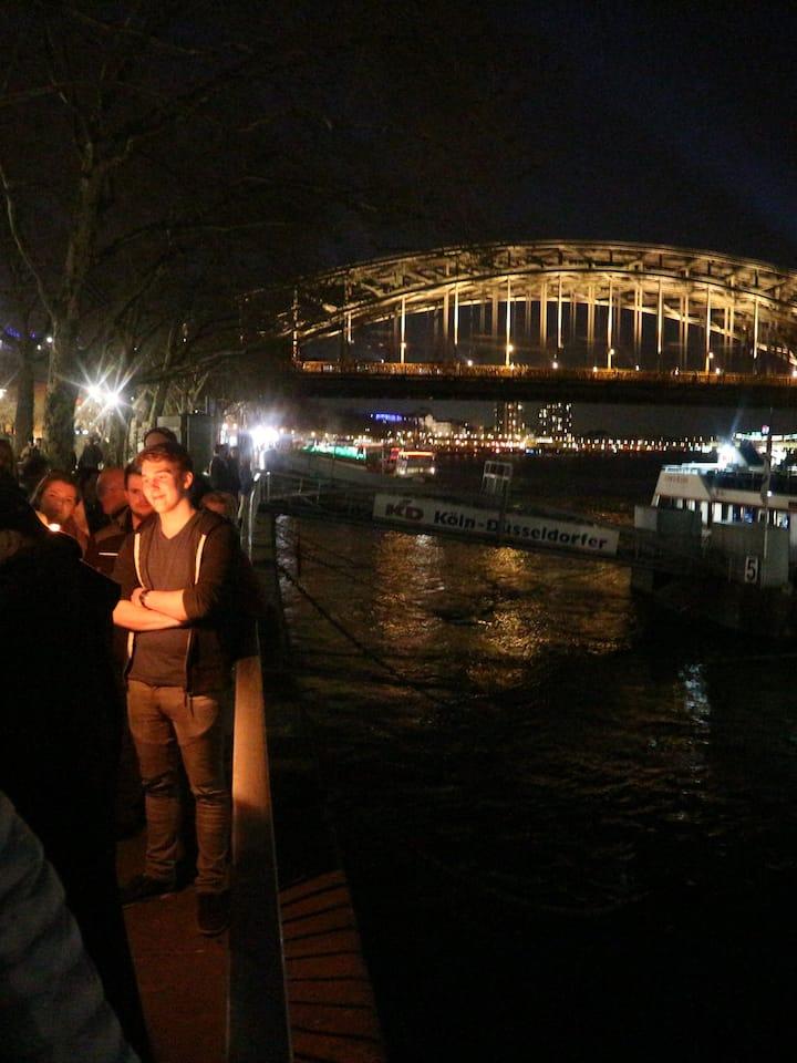 bei Rheinufer