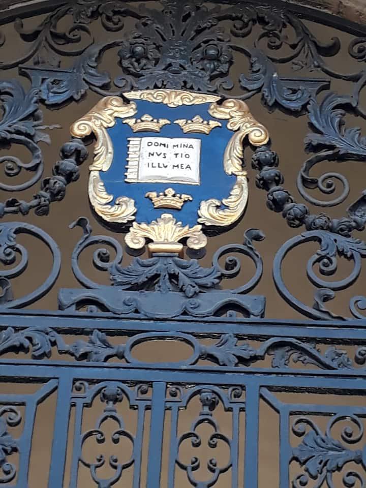 Oxford University Symbol - not Hogwarts!