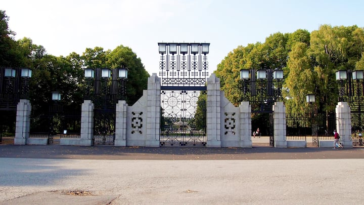 Vigeland park entrance