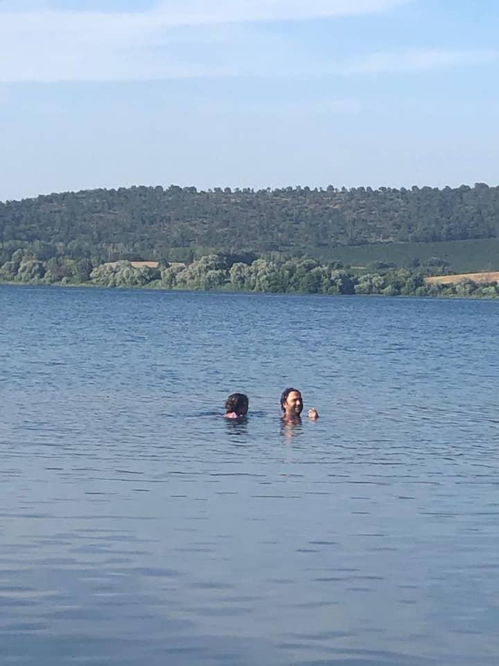 uncontaminated  lake