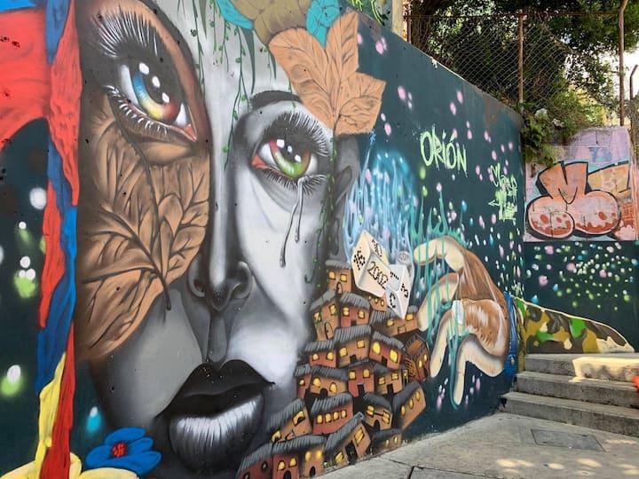 Graffiti Comuna 13