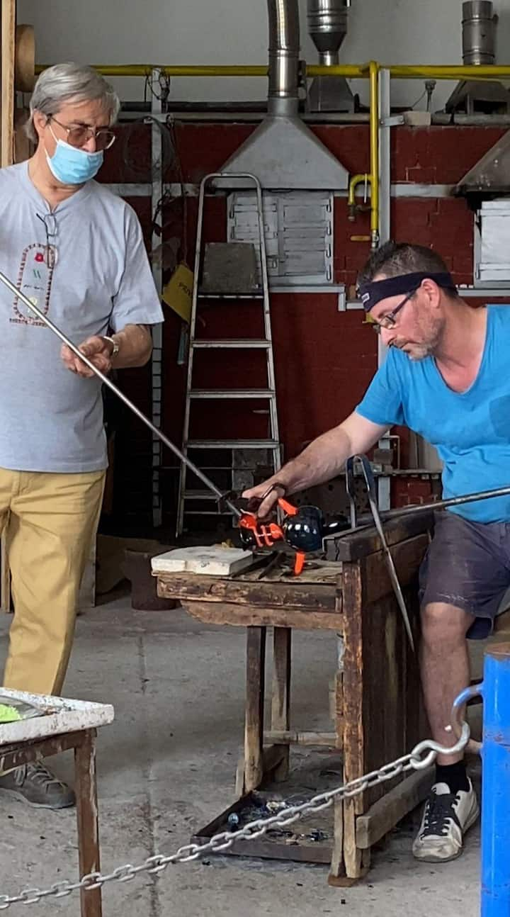 You will see glass master working!