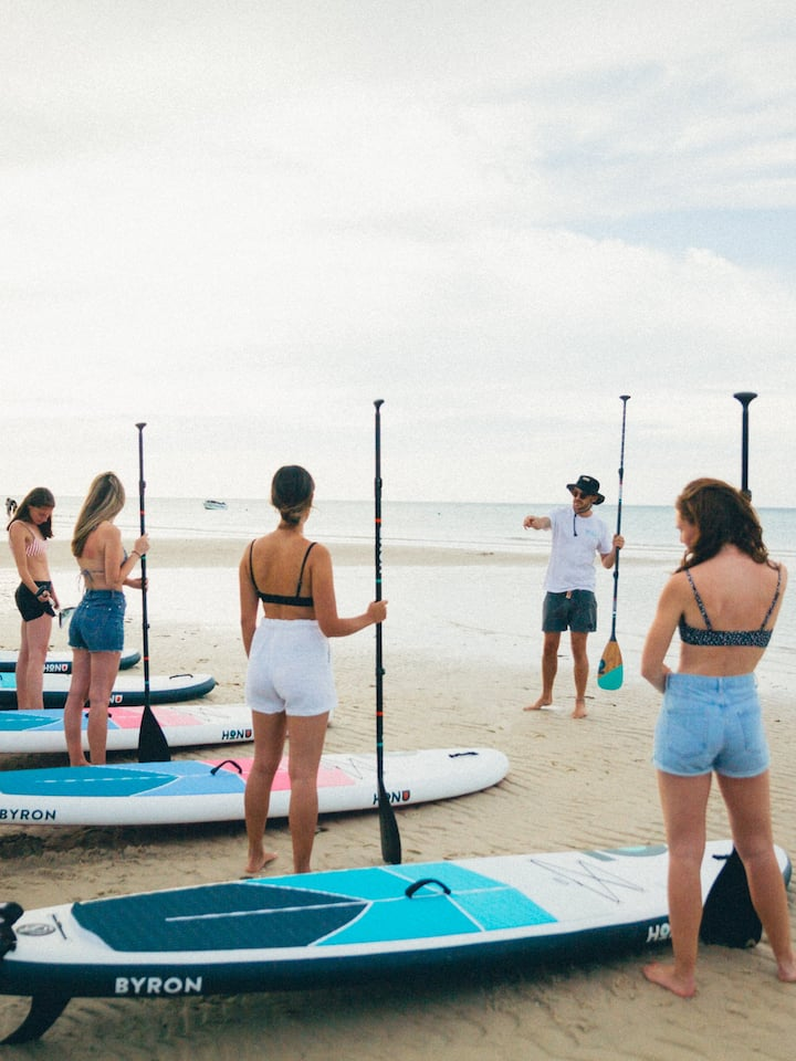 Fully instructed SUP lesson & tour