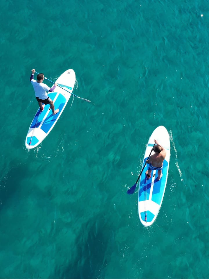 Ocean SUP lesson and guided tour