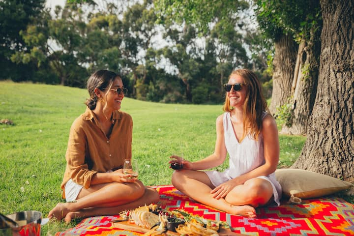 Organic winery picnic lunch included
