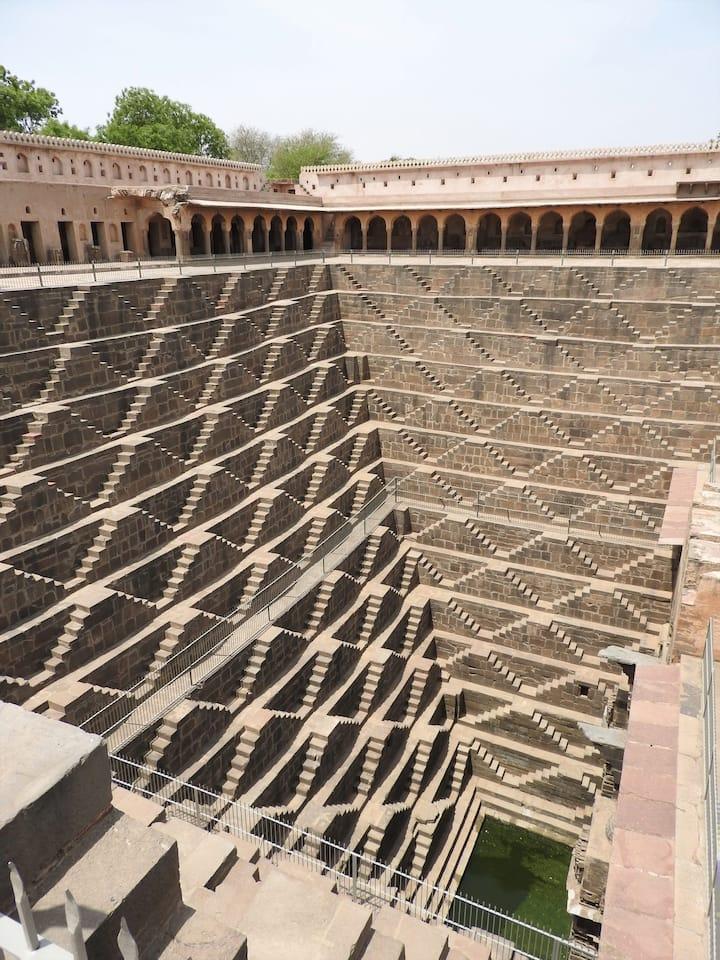 Stairs of Chand Baori