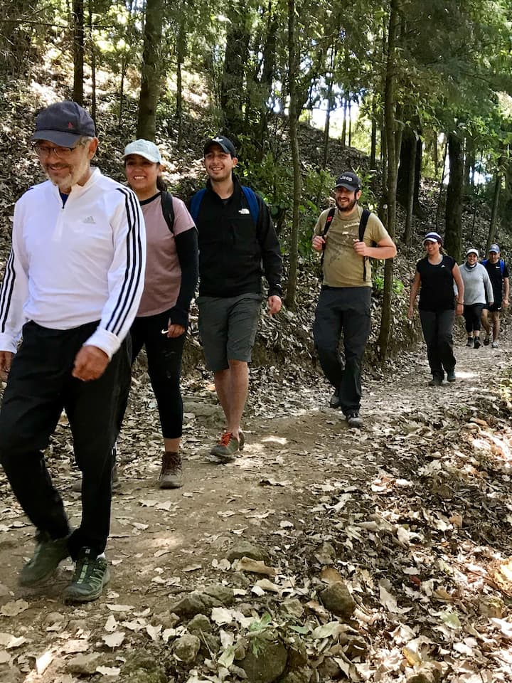 Caminata amena y saludable