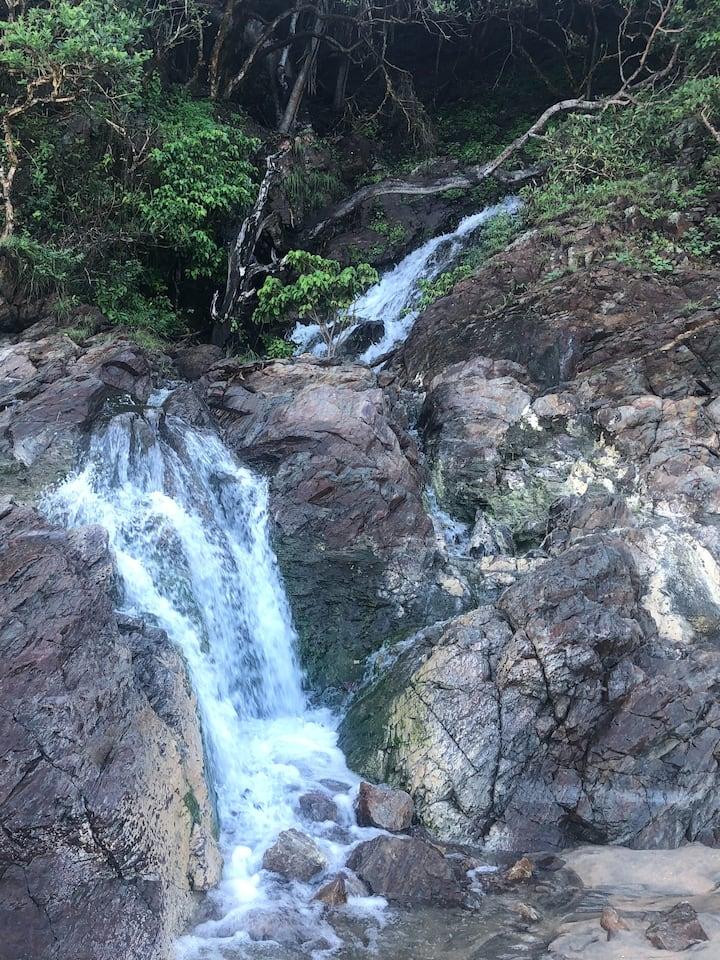Rainy season waterfalls.
