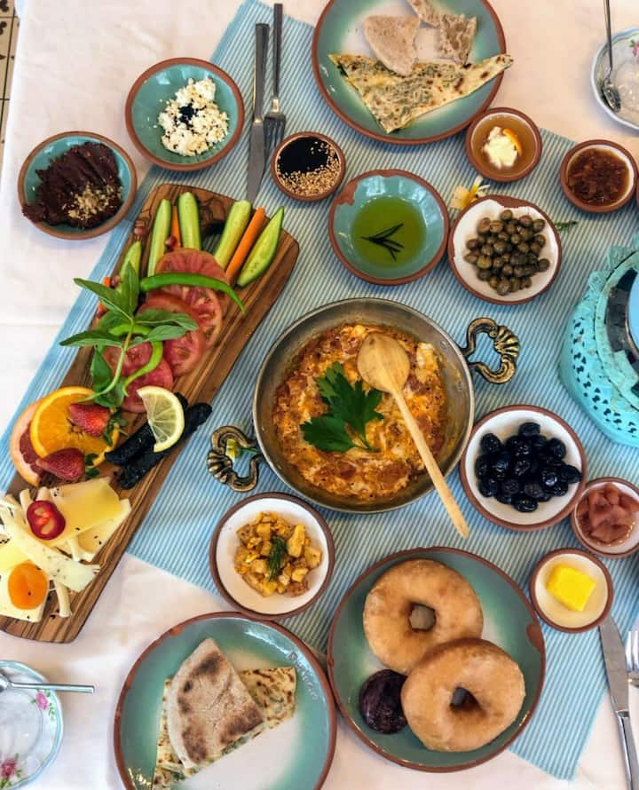 That s Turkish Breakfast!