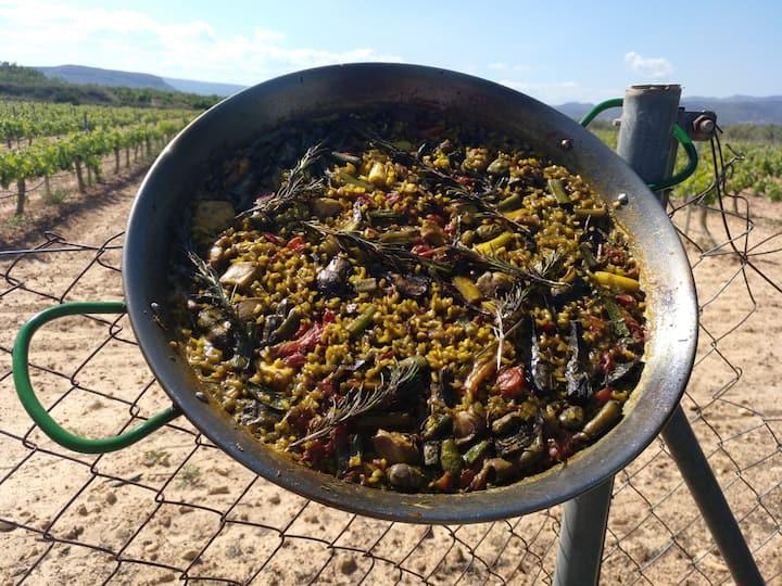 Seco de verduras de nuestro huerto