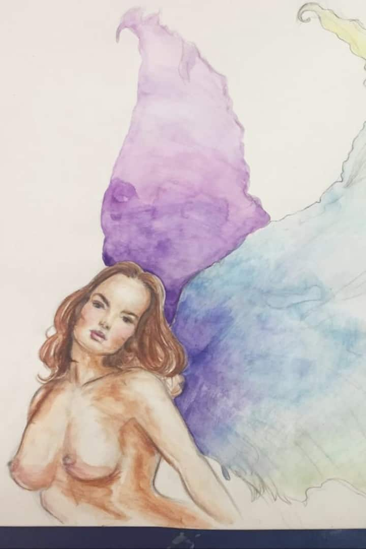 Watercolour painting - Acquerello