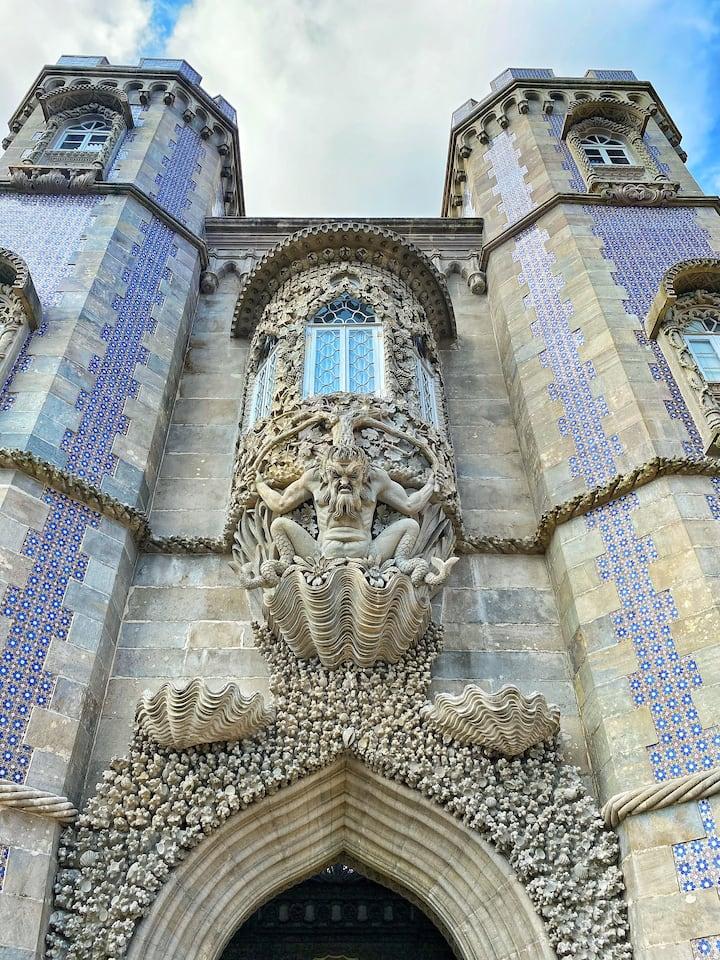 Detail of the Palacio da Pena