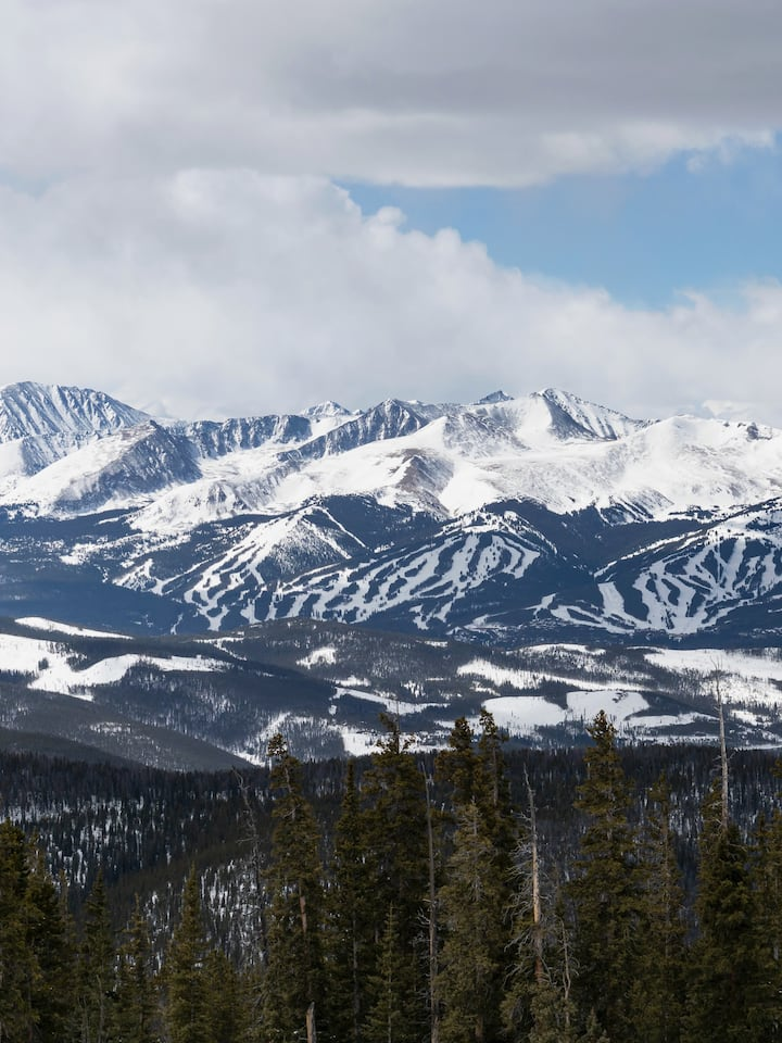 View of Breckenridge Ski Area