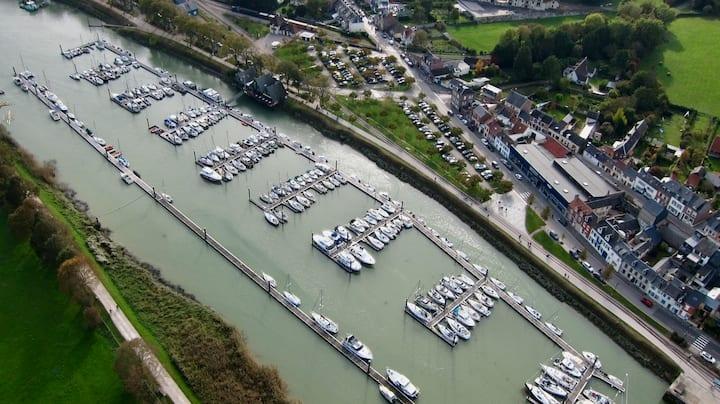Le port de saint Valéry