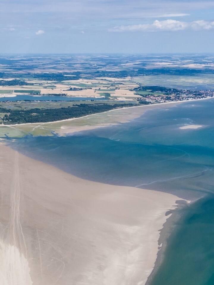 Vue de la Baie de Somme