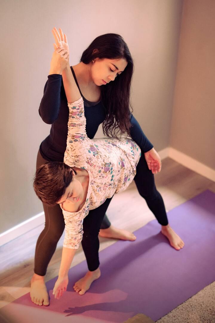 Adjustments in postures