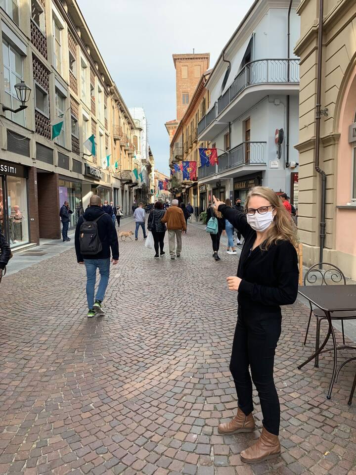 Passeggiando nel centro storico