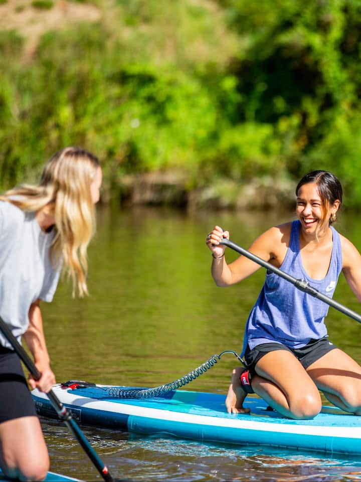 SUP lesson and guided tour