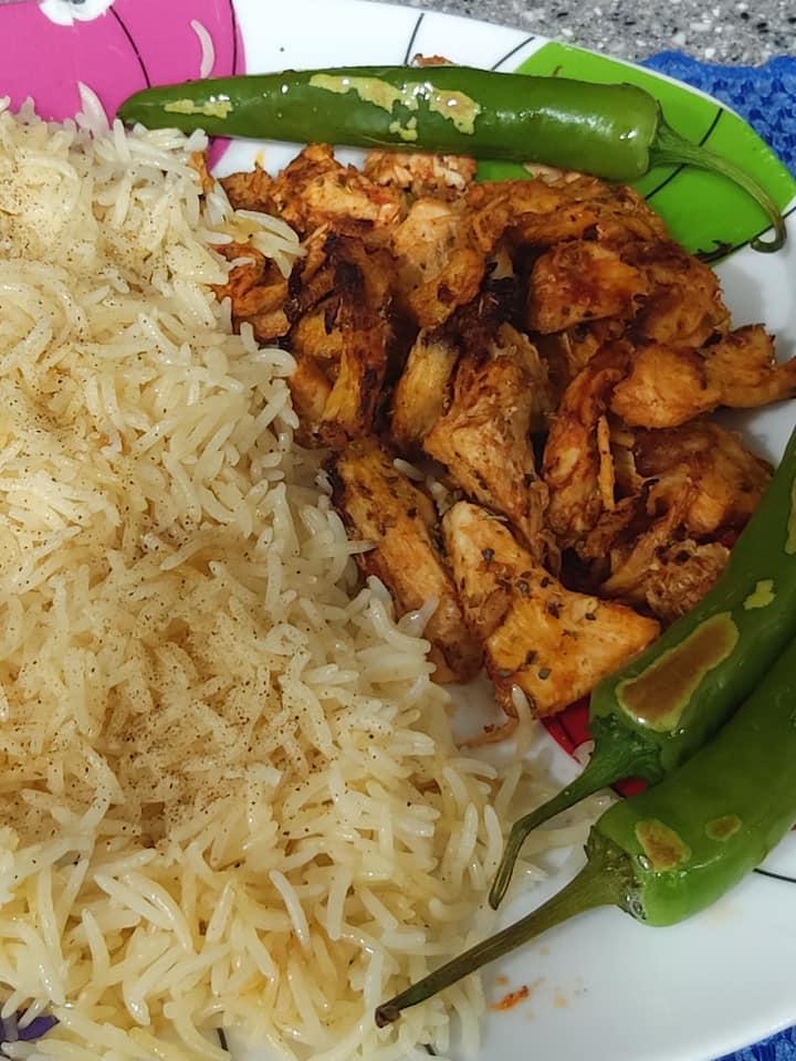 Turkish style chicken