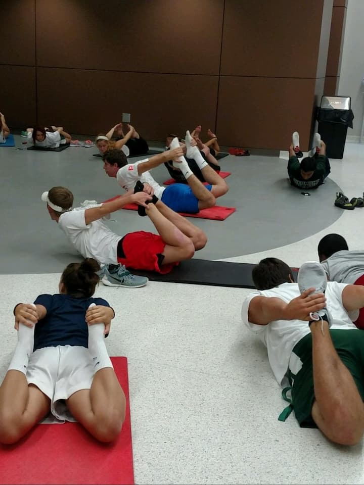 Mat work is a valuable part of exercise