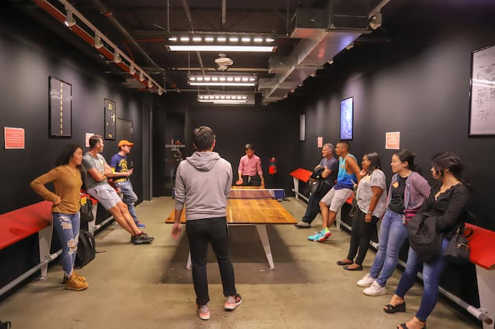 It's not a Tech office without ping pong