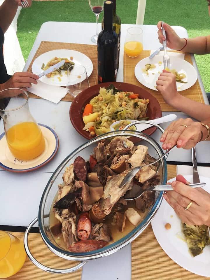 Só comida tradicional!!