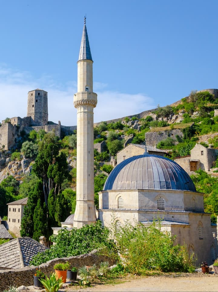 Počitelj - beautiful Ottoman town