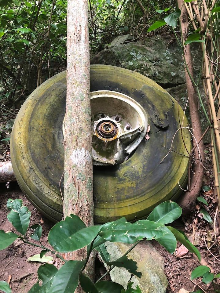 Destroços de avião no Bananal( secreto)