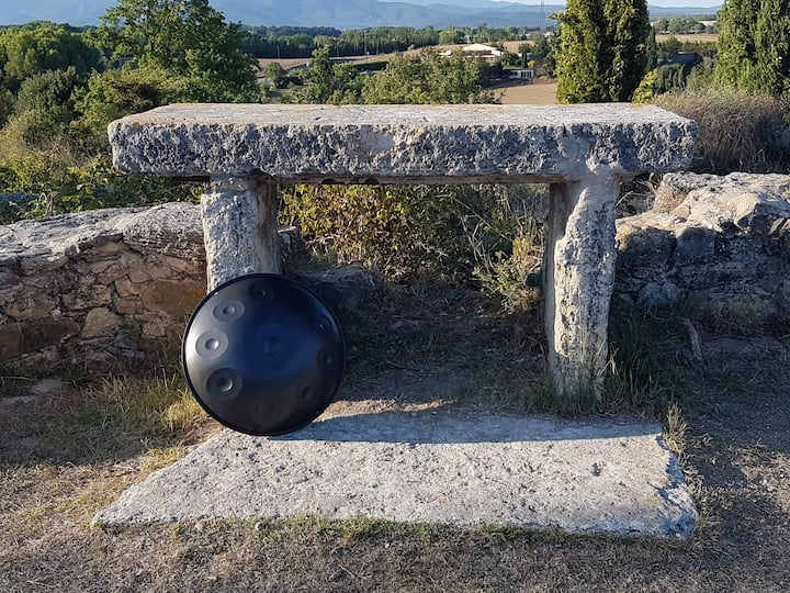 Altar de pedra de les Ruïnes