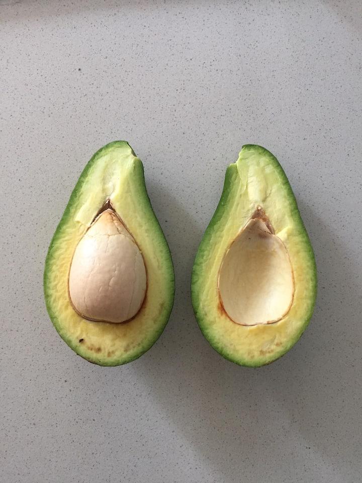 tasting avocados
