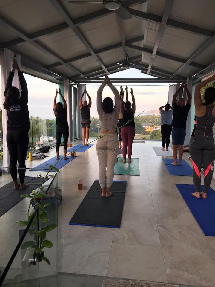 Power Yoga session