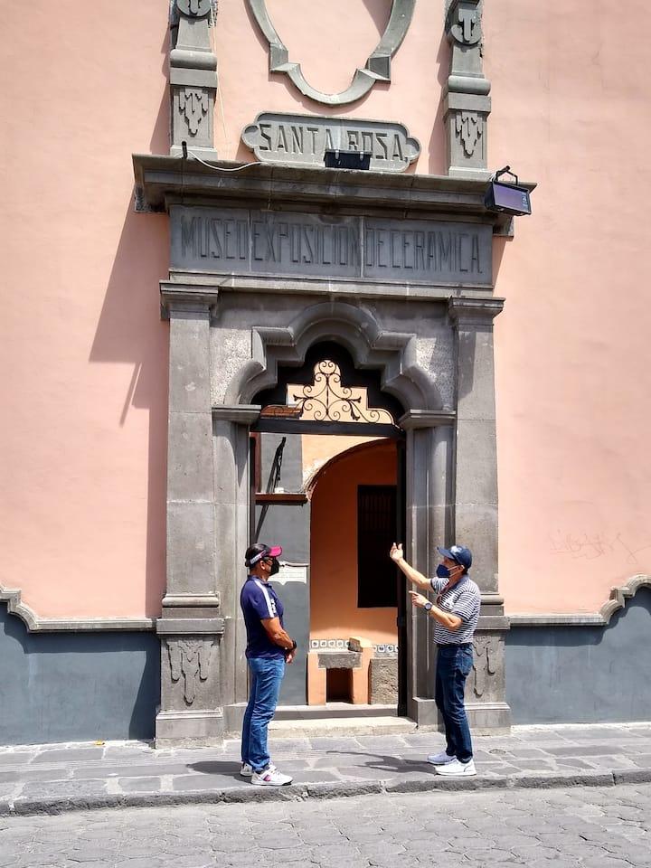 Explicación previa al museo-convento