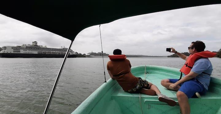Cauce del Canal de Panamá