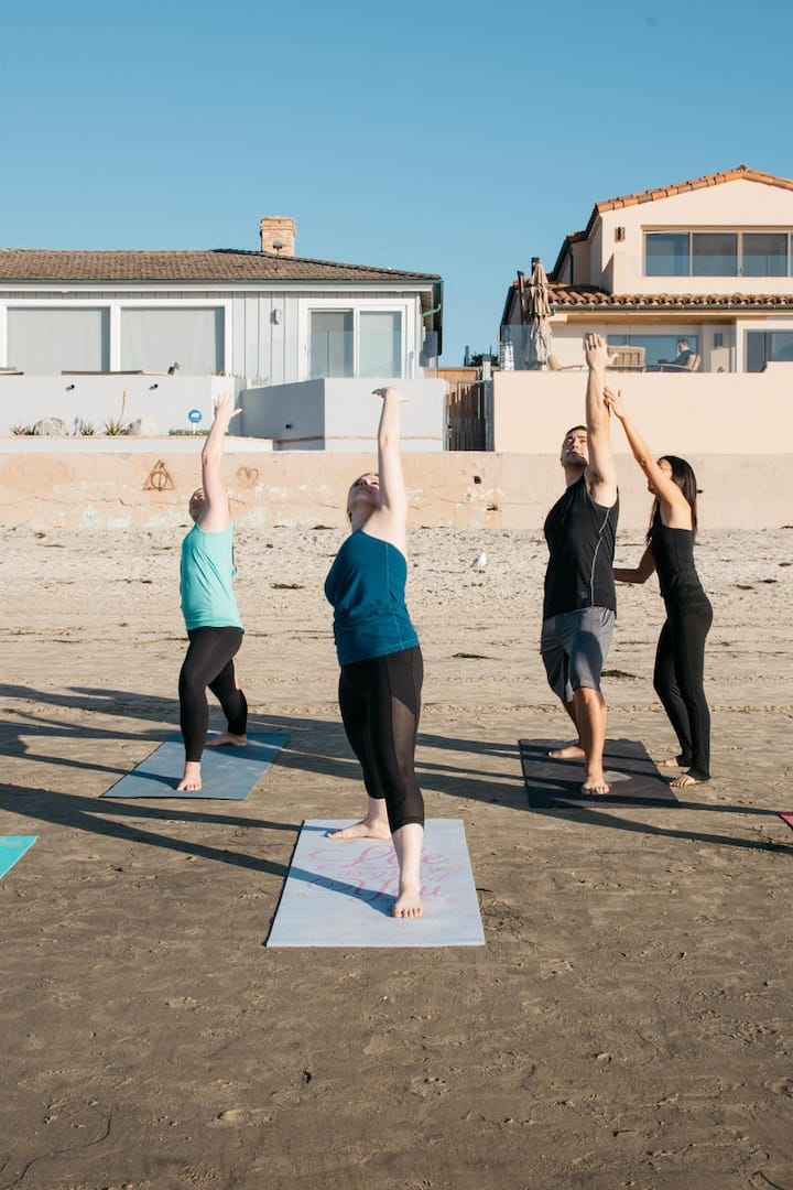 Yoga session by your  vacation home